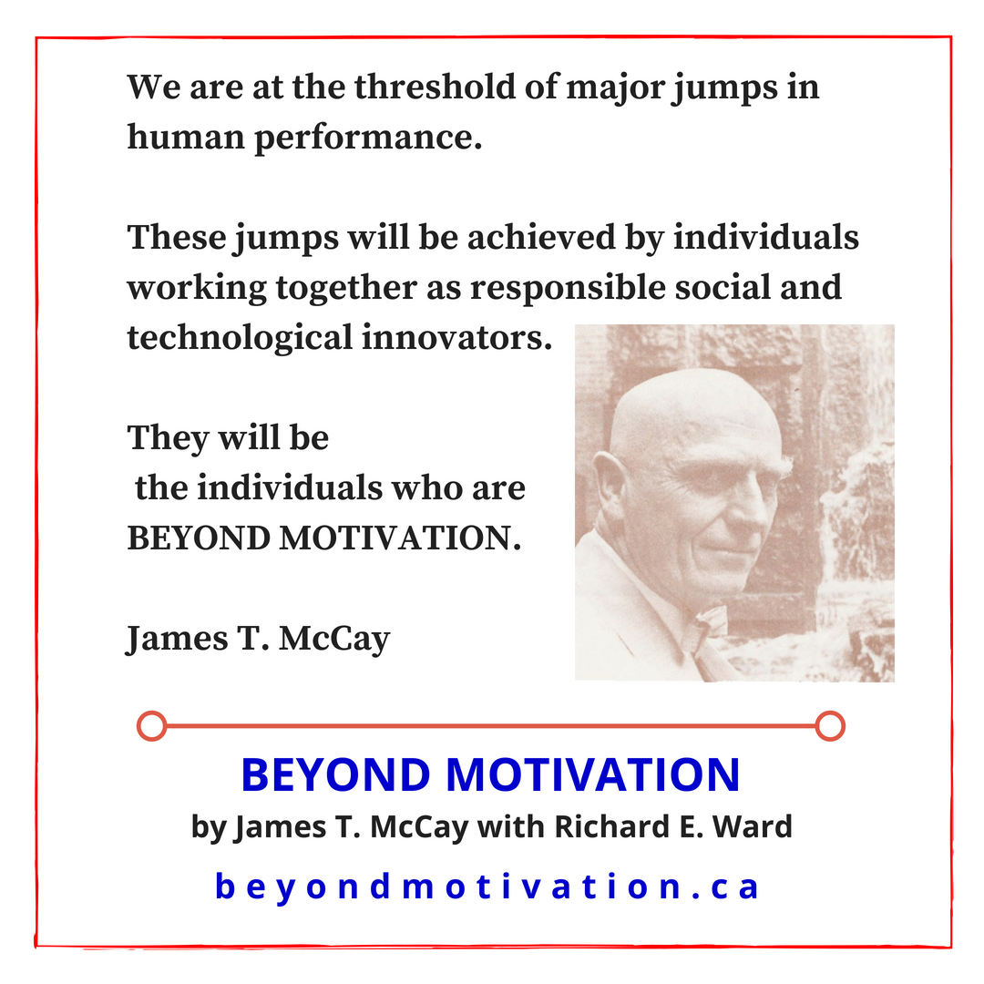 We are at the threshold of jumps in human performance