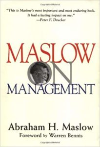 Maslow on Management - Abraham Maslow - Beyond Motivation